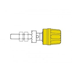 4mm SOCKET WITH CLAW EDGE / YELLOW (PK 10A)