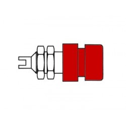 INSULATED 4mm SOCKETS / RED (BIL 20)