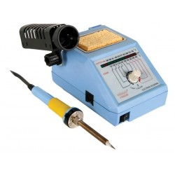 SOLDERING STATION WITH LED & CERAMIC HEATER 48W 150-420°C