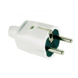 SCHUKO MALE PLUG SOFT ABS