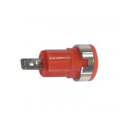 IEC1010 BINDING POST, FASTON - RED