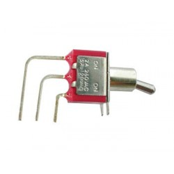 90° VERTICAL TOGGLE SWITCH SPDT ON-ON