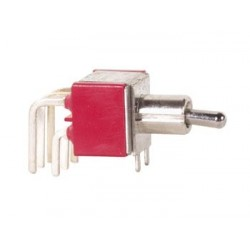 90° HORIZONTAL TOGGLE SWITCH DPDT ON-ON