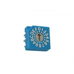 BCD SWITCH - HEXADECIMAL CODE - PCB MOUNTING
