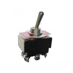 MAXI TOGGLE SWITCH DPDT ON-ON 5A/250V