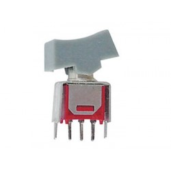 VERTICAL SUBMINIATURE ROCKER SWITCH SPDT ON-ON