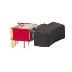 90° HORIZONTAL SUBMINIATURE ROCKER SWITCH SPDT ON-ON