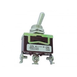 MAXI TOGGLE SWITCH SPDT ON-ON 10A/250V