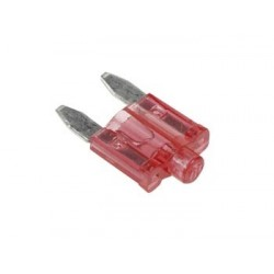 MINI CAR FUSE WITH INDICATOR LIGHT (10A RED)