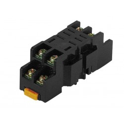 SOCKET FOR HEAVY-DUTY RELAY - 8 PINS - 10A