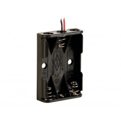 BATTERY HOLDER FOR 3 x AAA-CELL