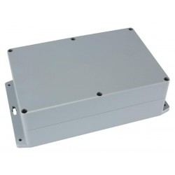 SEALED ABS BOX WITH MOUNTING FLANGE 222x146x75mm