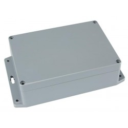 SEALED ABS BOX WITH MOUNTING FLANGE 171x121x55mm