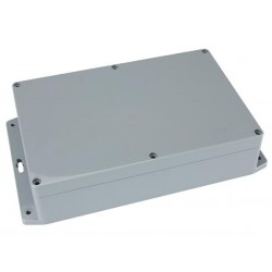 SEALED ABS BOX WITH MOUNTING FLANGE 171x121x80mm