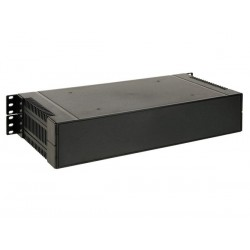 "19"" RACK MOUNT ABS ENCLOSURE - 2U"