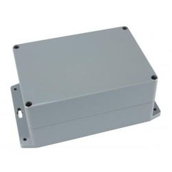 SEALED ABS BOX WITH MOUNTING FLANGE 222x146x55mm