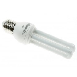 MINI 2U ENERGY-SAVING LAMP - 9W - 240V - E27 - 2700K