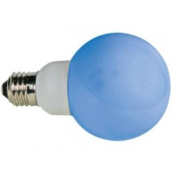 BLUE E27 LED LAMP - 230VAC - 20 LEDs