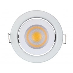 RECESSED LED SPOTLIGHT 5 W - GU10 - 230 V - WARM WHITE