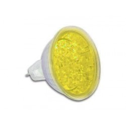 YELLOW MR16 LED LAMP 12VAC