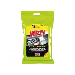 WIZZY COCKPIT WIPES SHINY FINISH - 15PCS/PACK