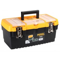 """16"""" TOOLBOX WITH METAL LATCHES"""