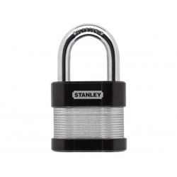 STANLEY - SECURITY LOCK - LAMINATED - STANDARD SHACKLE - 50 mm