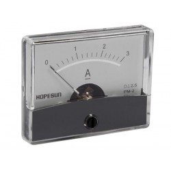 ANALOGUE CURRENT PANEL METER 3A DC / 60 x 47mm