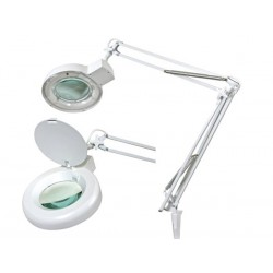 LAMP WITH MAGNIFYING GLASS  5 DIOPTRE- 22W WHITE