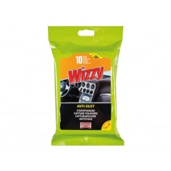 WIZZY ANTI-DUST COCKPIT WIPES - 10PCS/PACK