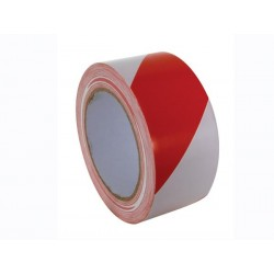 LANE MARKING TAPE - 50mm x 33m - RED/WHITE