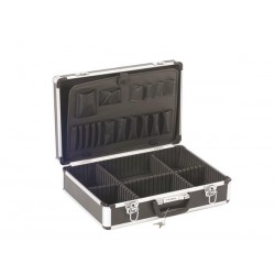 ALUMINIUM TOOL CASE 455 x 330 x 152mm BLACK