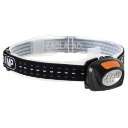 2 IN 1 LED HEADLAMP WITH 4 WHITE AND 3 RED LEDs