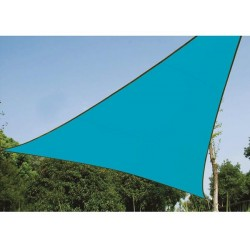 SHADE SAIL - TRIANGLE 3.6 x 3.6 x 3.6 m, COLOUR: SKY BLUE