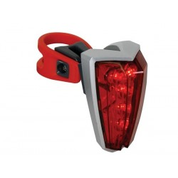 TAIL AND SAFETY LIGHT - 5 RED LEDs