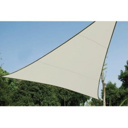 SHADE SAIL - TRIANGLE 3,6 x 3,6 x 3,6m, colour: Cream