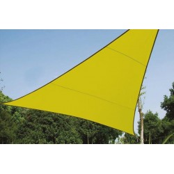SHADE SAIL - TRIANGLE 3.6 x 3.6 x 3.6 m, COLOUR: LIME GREEN