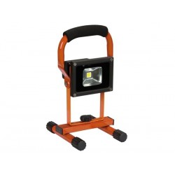 PORTABLE RECHARGEABLE LED WORK LIGHT - 10 W - 6500 K