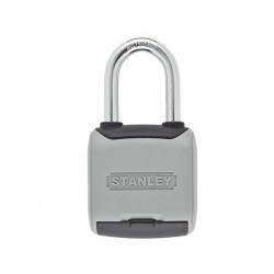 STANLEY - COMBINATION PADLOCK - LONG SHACKLE - 50 mm