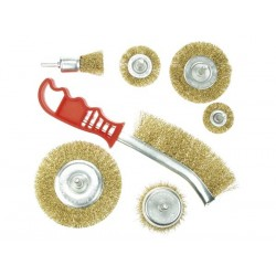 WIRE BRUSH SET - 7 pcs