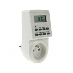DIGITAL TIMER - WEEKLY PROGRAMMABLE