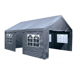 PARTY TENT - 4 x 6m - CHARCOAL GREY