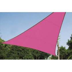 SHADE SAIL - TRIANGLE 3.6 x 3.6 x 3.6 m, COLOUR: FUCHSIA
