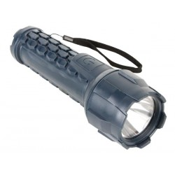 3 WATT CREE-LED RUBBER TORCH - 100lm