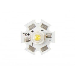 HIGH POWER LED - 3 W - COLD WHITE - 230 lm