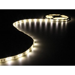 FLEXIBLE LED STRIP - WARM WHITE - 150 LEDs - 5m - 12V