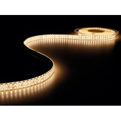 FLEXIBLE DUAL LED STRIP - WARM WHITE - 1200 LED - 5m - 24Vdc