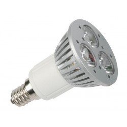 3 x 1W LED LAMP - NEUTRAL WHITE (3900-4500K) - 230V - E14