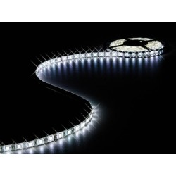 FLEXIBLE LED STRIP - COLD WHITE - 300 LEDs - 5m - 24V