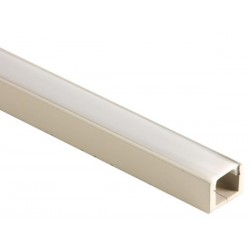 MDF LED PROFILE FOR LED STRIPS - 1M
